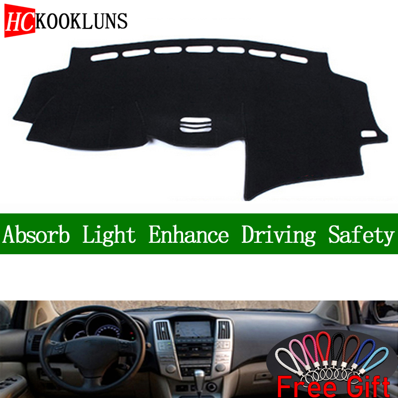 For <font><b>lexus</b></font> RX300 RX350 <font><b>RX400</b></font> 2004-2007 Dashboard Cover Sun Shade Dash <font><b>Mat</b></font> Pad Carpet <font><b>Car</b></font> Stickers Interior Accessories image