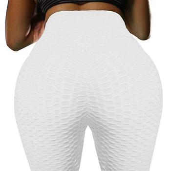 JGS1996 Women's High Waist Yoga Pants Anti-Cellulite Slimming Booty Leggings Workout Running Butt Lift Tights 16