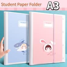 A3 Paper Storage Folder Booklet File Folders  binders for school  paper organizer  file  presentation folder  stationary