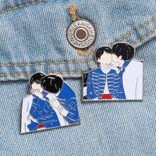 BTS Metal Badge Brooch