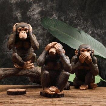Resin Monkey Figurine  2