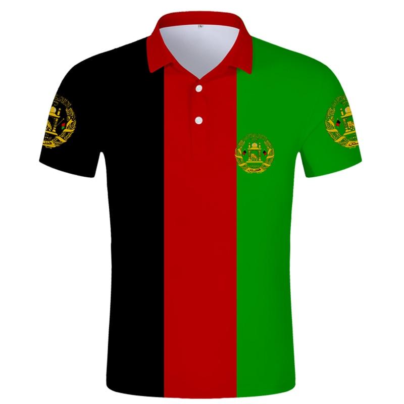 AFGHAN POLO shirt free custom name  afg slam afghanistan arab POLO shirt persian pashto islamic print text photo flag AF clothes