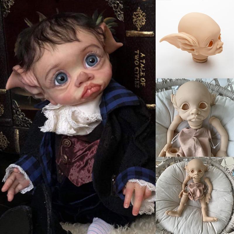 17inch Reborn Kit Tinky Fee Puppe Weichen Touch Vinyl Reborn Baby Puppe Kits Unlackiert Unfinished Puppe Teile NEUE mit zertifikat