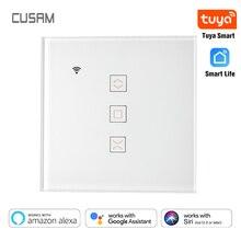 Tuya akıllı yaşam WiFi perde kör anahtarı panjur elektrik motoru Google ev Alexa Siri ses kontrolü DIY akıllı ev