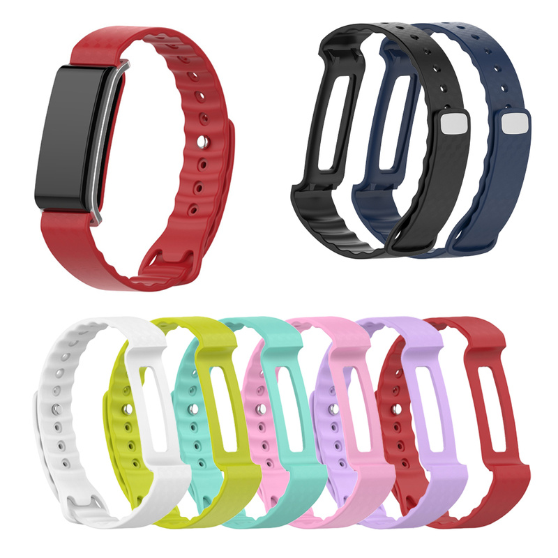 For Honor Band A2 Wrist Strap Silicone For Huawei Honor Band A2 Bracelet Colorful Woven Straps For Band A2 Replacement BandA2