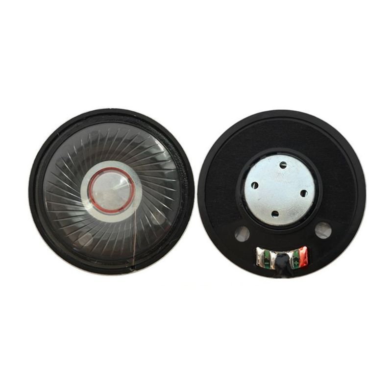 2PCS 50mm Headphone Speaker Headset Driver 32Ohm 112db HIFI Speaker Repair Parts