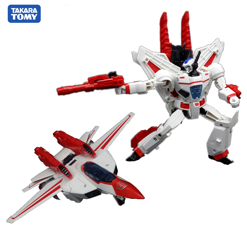 TAKARA TOMY Transformation LG07 CAR Metal Part  25CM Jetfire Skyfire Autobots Action Figure Deformation Robot Children Gift Toys