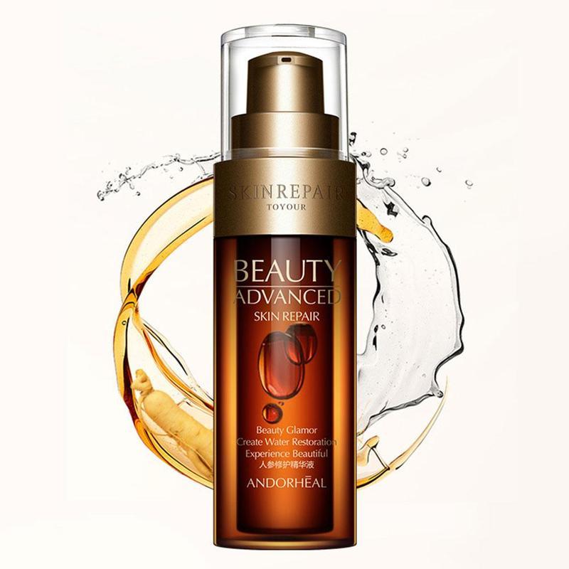 Ginseng Face Serum Hyaluronic Acid Vitaminis Pore Minimizer Moisturizing Wrinkle Cream Anti Aging Facial Skin Care