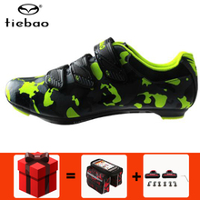 цены TIEBAO Road Cycling Shoes Men sneakers sapatilha ciclismo Outdoor zapatillas deportivas mujer Bike Shoes Bicycle Sneakers women