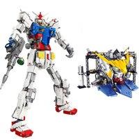 DHL Hot super robot war mecha Classic gundam model 18K RX78 2 1:60 3500Pcs Fixed bracket building block bricks Christmas toys