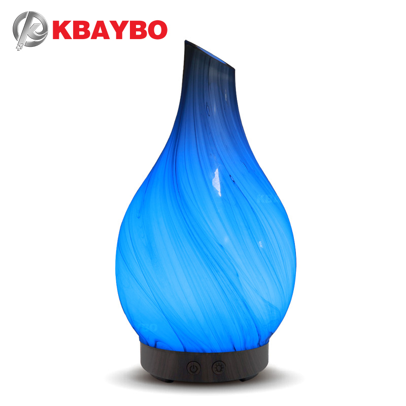 KBAYBO 100ml Electric Aroma Diffuser Air Humidifier Oil Diffuser Aromatherapy Cool Mist Maker With LED Night Lights For Home