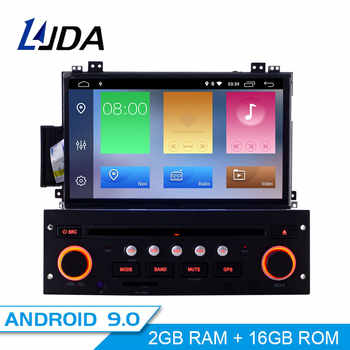 LJDA Android 9.0 Car Multimedia Player For Citroen C5 1 Din Car Radio Autoaudio WIFI GPS Navigation Stereo DVD CD Steering Wheel - DISCOUNT ITEM  21% OFF All Category