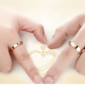 Image 4 - Couple Rings Wedding Engagement Promise Rings Lover Gift Party Accessories  316L Stainless Steel for Men Women  Lovers