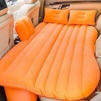 Автомобильный надувной матрас для путешествия кровать чехол на заднее сидение автомобиля надувной матрас
