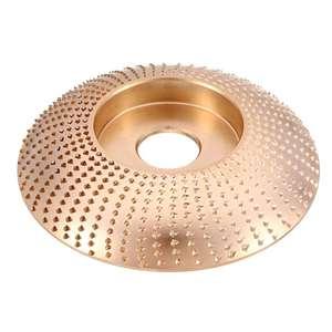 Image 4 - 110mm łuk z węglika wolframu drewna kształtowanie Disc Carving Disc 22mm szlifierka koła narzędzia ścierne do 115 125 szlifierka kątowa
