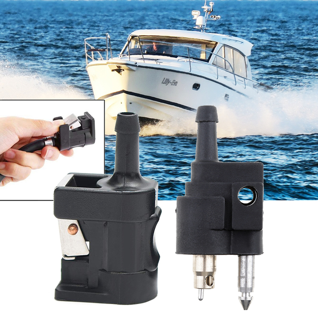Fuel Line Male+Female Connector for Yamaha Outboard Motor Tank Side motor fuera de borda лодочные моторы