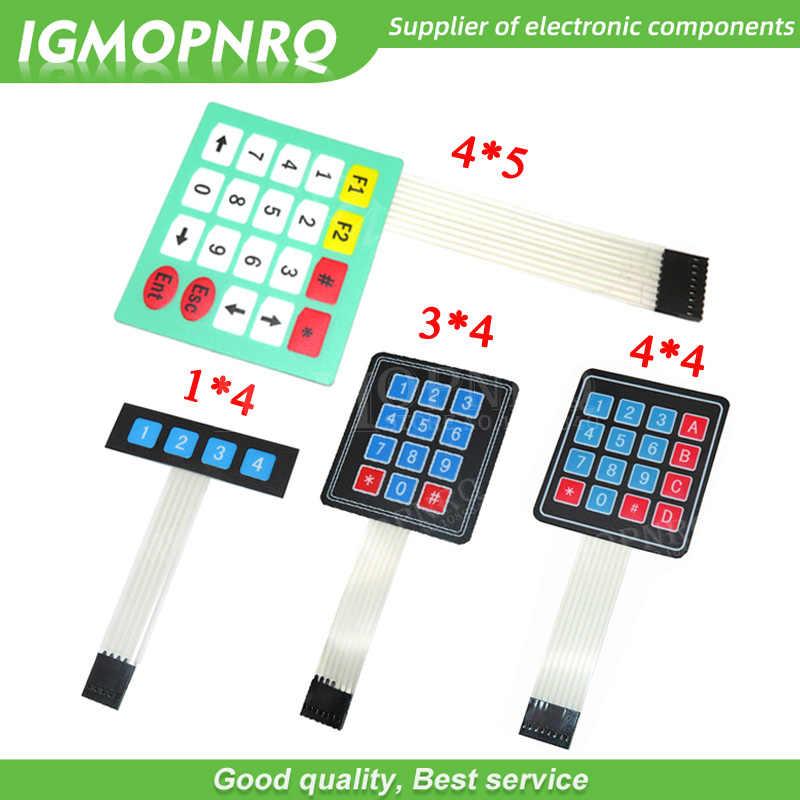 4 12 16 20 klucz 1*4 4*3 4*4 4*5 klawiatura membranowa 1x4 3x4 4x4 4x5 Matrix Array Matrix klawiatura dla arduino inteligentny samochód