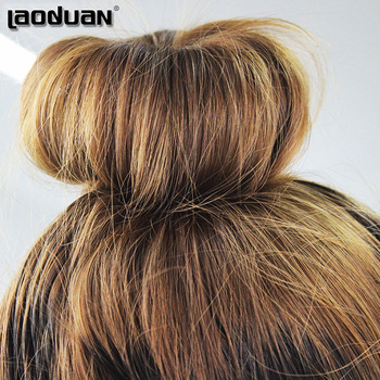 3PCS Hair Accessories New Womens Girls Hair Donut Bun Ring Shaper Styler Maker Brown Black Beige