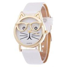 Cute Cat Women's Quartz Watches Kids Wristwatch Gifts Relogio Feminino Clock Wom