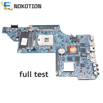 NOKOTION 705188-001 laptop motherboard for HP pavilion DV6 DV6-6000 main board HD3000 1GB graphics full test