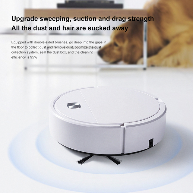 2021 Upgrade Smart Robot Vacuum Cleaner 1800Pa App Remote Control Vacuum Cleaner Home Multifunctional Wireless Sweeping Robot 2