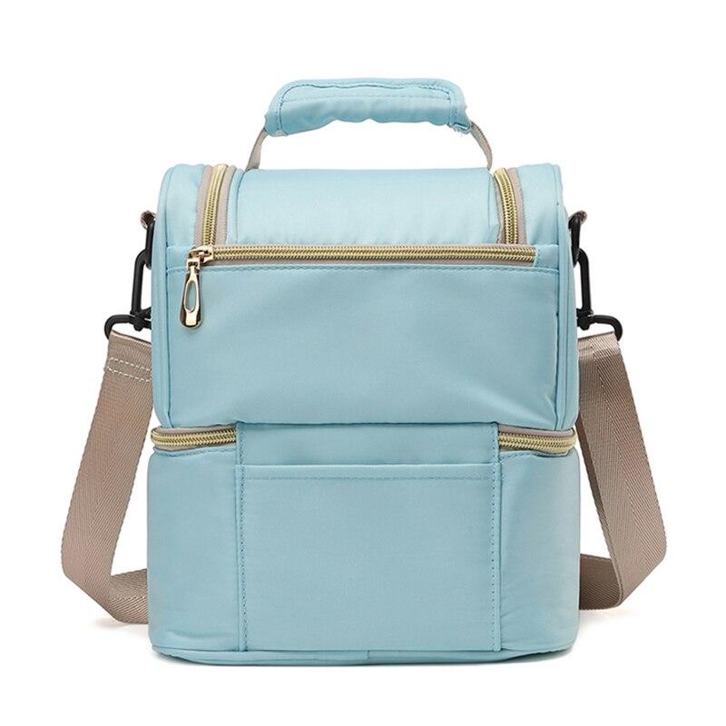 Benepig Fashion Mummy Back Milk Bag Pregnant Women Diaper Bag Large Capacity Diaper Bag Travel Backpack Baby Care Package