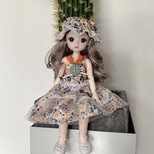 BJD Doll Dress Princess-Toy Girl 18inch Fashion Small Flowers Christmas-Gift Casual