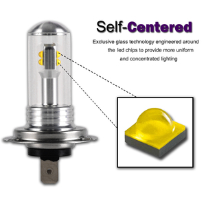 Image 4 - Novsight 2Pcs H7 Led Lamp Mistlichten 3000LM 6000K 12V Wit Drl Dagrijverlichting Auto Lamp Auto licht D45