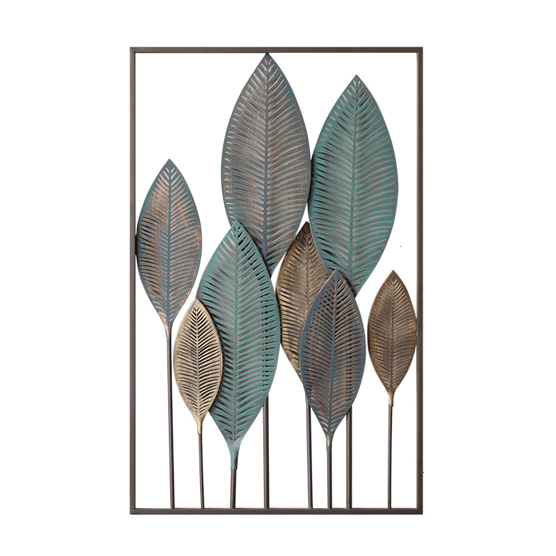 Wheat All Wall Hanging Decorate Northern Europe Iron Art Simplicity Home Furnishing Originality A Living Room Wall Ornament Ins