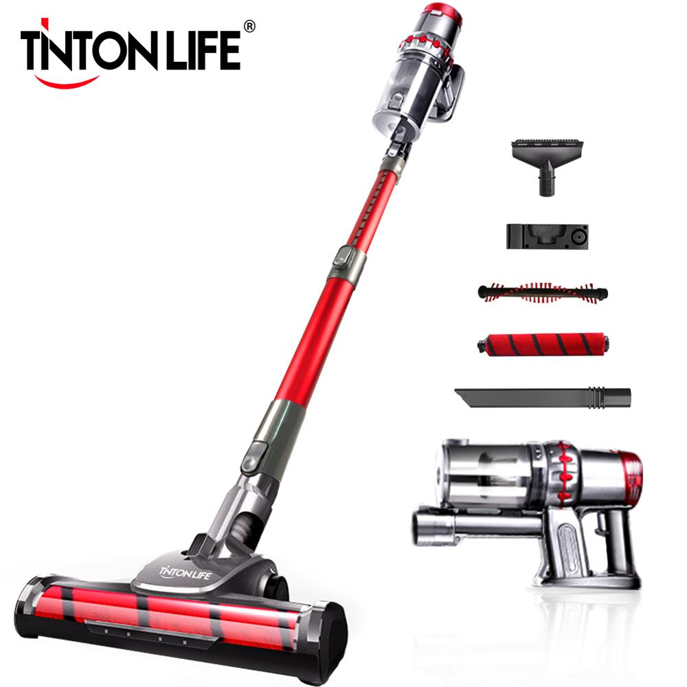 TINTON LIFE TX9 Portable 2 In 1 Handheld Wireless Vacuum Cleaner Cyclone Filter 11000Pa Strong Suction Dust Collector Aspirato