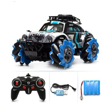 1:14 Cross-country Off-road Climbing Car 360-degree Rotating Drift Remote Control Car 2.4G Four-wheel Drive Drift Alloy RC Car