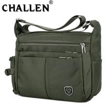 New Fashion Men's Casual Shoulder Messenger Bag Splash-proof Nylon Shoulder