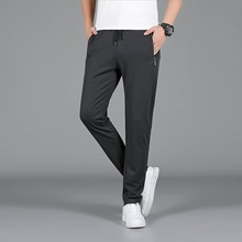 Autumn Men Elastic Force Wei Pants Plus Fat plus Size Fat Man Men's Wear Long Pants Fat Loose Leisure Sports Pants