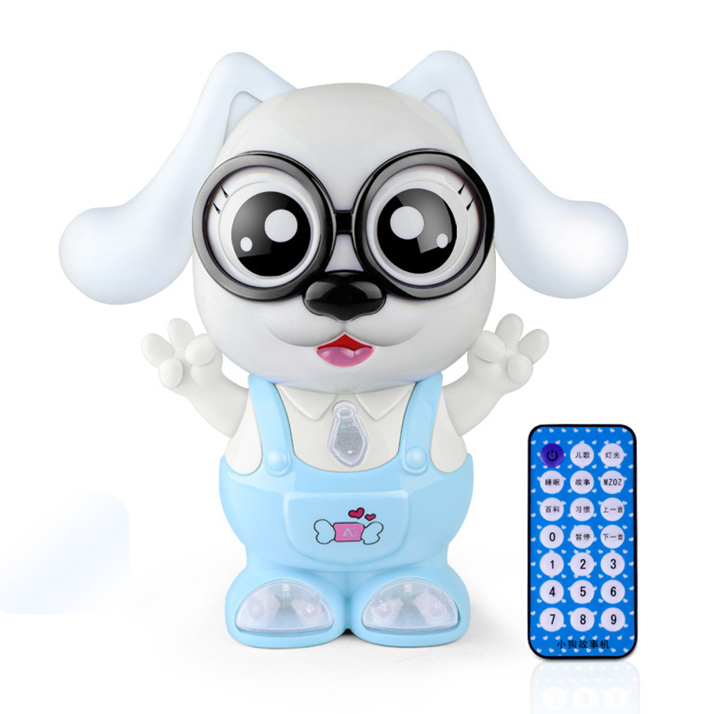 Children's Toys Fun Puzzle Remote Control Story Machine Luminous Music Multi-function Early Education Maternal And Child Toys