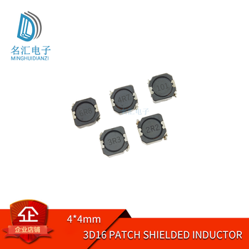 3d16 SMD shielding inductance 4 * 4mm 2.2uh 3.3uh 4.7uh 10uh 22uh 47uh100uh image