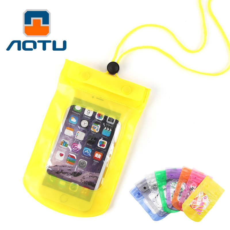 New Style Summer Waterproof Phone Set Diving Digital Apple Mobile Phone Bag Photo Shoot Touch Screen Waterproof Bag Cross Border