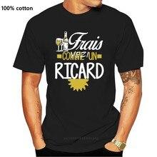 T-shirt homme en coton, cool, frais comme un ricard