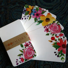 40/50pcs Cute Holiday Greeting Cards Flower Message Paper Card DIY Greeting Cards Postcards Party Weadding Invitation Cards
