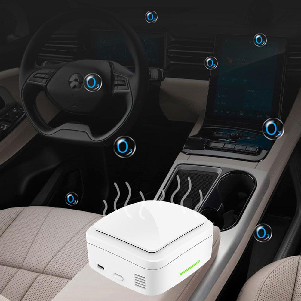 Multifunction Car Home Indoor Ozone Sterilizer Odor Removal Disinfection Machine Car Accessories ABS Fresh Environment Office