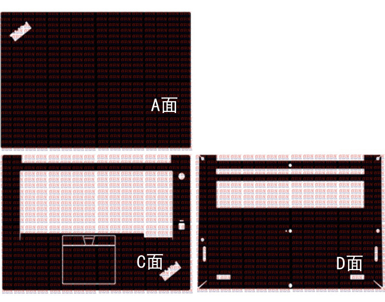 Laptop Carbon Fiber Vinyl Skin Sticker Cover For Lenovo ThinkPad X1 Extreme/P1 1st/2nd Gen 15.6