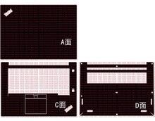 "Portátil de fibra carbono vinil pele adesivo capa para lenovo thinkpad x1 extreme/p1 1st/2nd gen 15.6"""