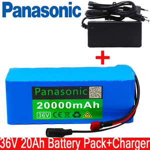 36V 20Ah electric bicycle battery built-in 20A BMS lithium battery pack 36 volt 2A charging Ebike battery + charger