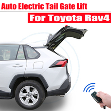 цена на Auto Electric tail gate lift For Toyota Rav4 2013-2018 refitted Leg sensor Tailgate Car modification Automatic door Dedicated