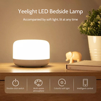 Yeelight Intelligent LED Bedside Lamp Touching/APP/Voice Control Night Light RGBW Color Changing Table Lamp For Homekit Mijia