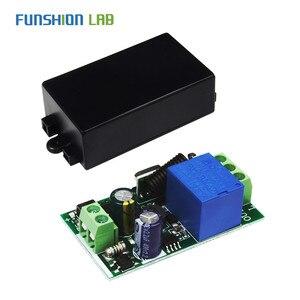 Image 5 - 433Mhz האלחוטי אוניברסלי מתג AC 110V 220V 1 CH ממסר מקלט מודול עם 6 ערוץ RF Led מרחוק משדר