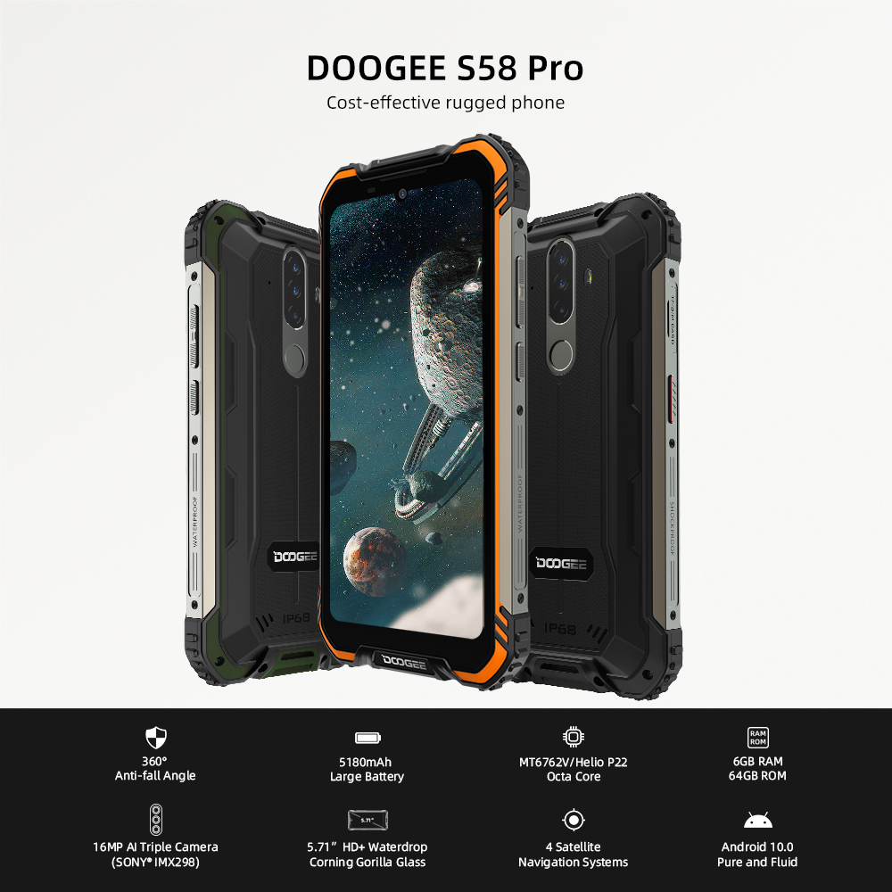 New DOOGEE S58 Pro  5