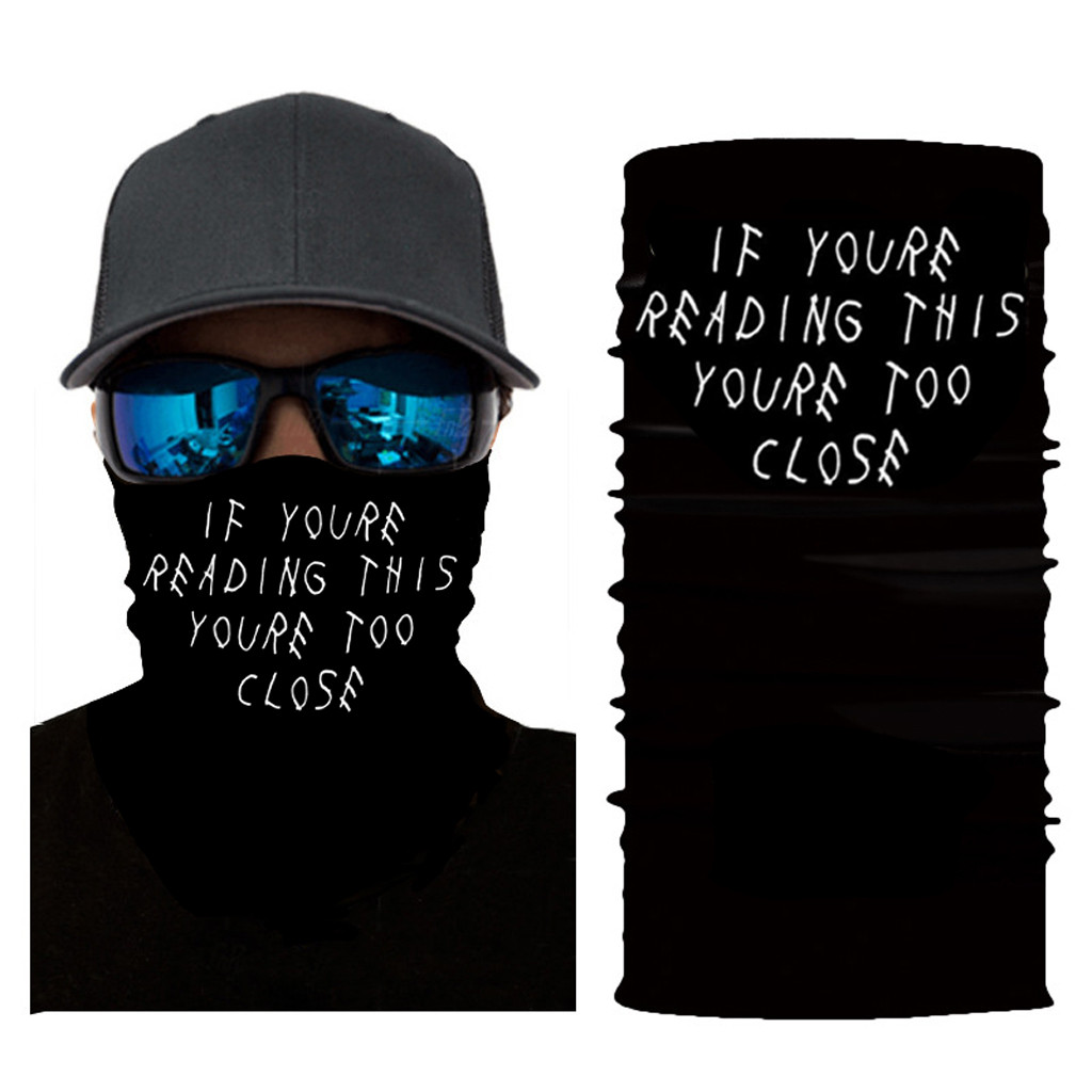Training facemask Sports Masks Headband Outdoor Neck Warmer Cycling Bike Bicycle Riding Face Mask Head Scarf Innrech Market.com