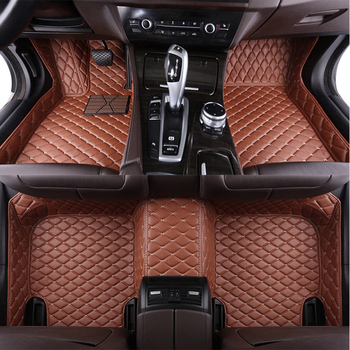 Leather Car Floor Mats for Infiniti M25 M25L 2007 2008 2009 2010 2011 2012 2013 Custom Produced Car Foot Mat Carpet Liners