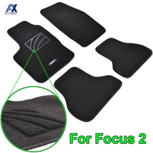 Mats Carpet-Liner Floor-Mat Ford Focus Rear 2007 Interior 2006 2005 Black Front 2005/2006/2007/..