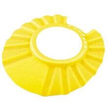 Регулируемый мягкий детский шампунь для ванны душа Кепка для мытья головы для детей шапочка для душа детская шапочка для купания#40